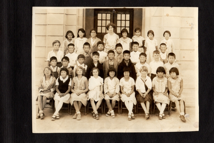 Grade 4, 1930, Compton CA.