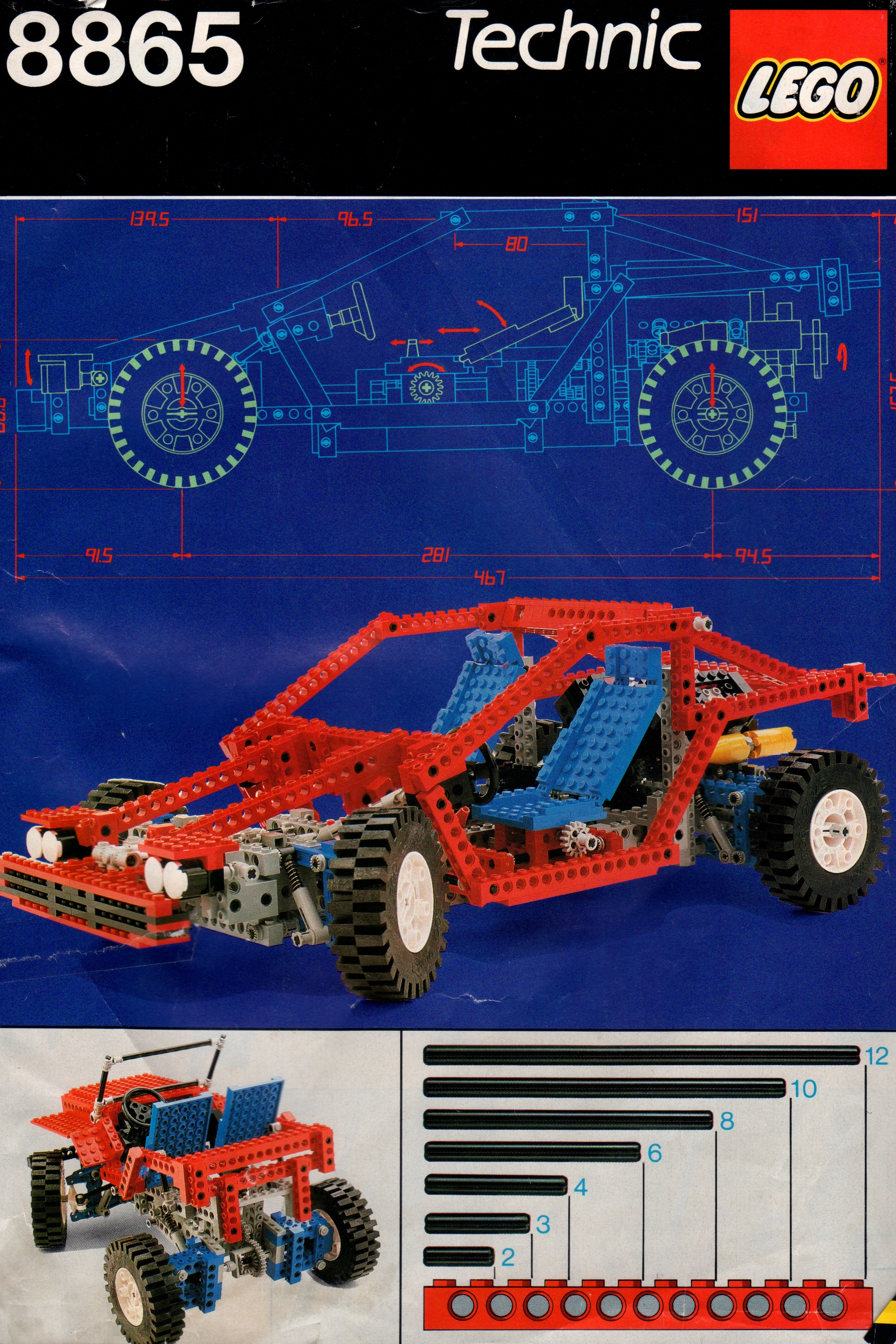 time on my hands deconstructing lego technic 8865. Black Bedroom Furniture Sets. Home Design Ideas
