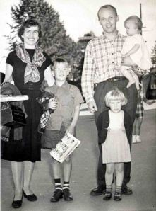 Anne, Ray and 3 of the 4 children