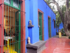 Frida Kahlo museum - the Blue House.