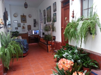 Reception at Hostal San Pancracio