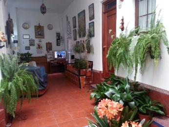 Reception at Hostal San Pancracio